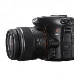 Sony SLT-A65V Profilansicht